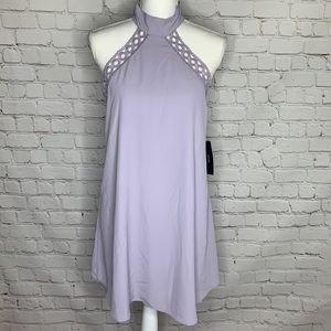 NWT Lulu's Halter Neck Mini Dress